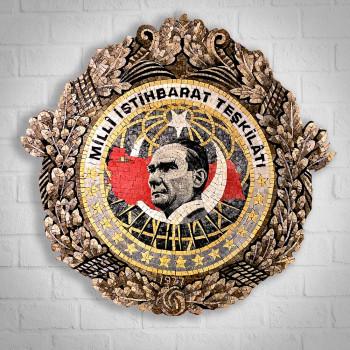 COAT OF ARM OF TURKISH NATIONAL INTELLIGENCE ORGANIZATION
