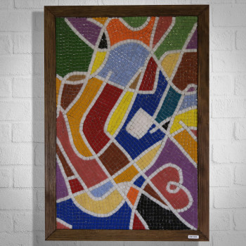 COLORS OF SPRING - GLASS MOSAIC